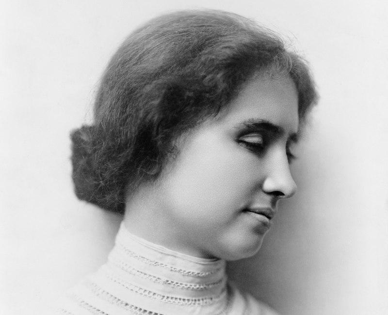 ヘレン・ケラーは嗅覚と触覚で人を判別できたという雑学