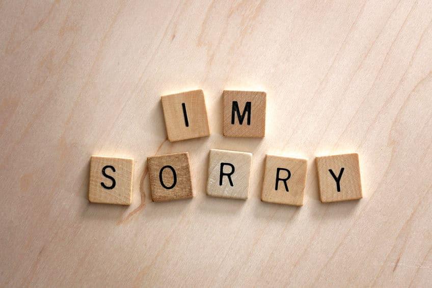「斬り捨て御免」のルール①謝った人は切ってはいけない