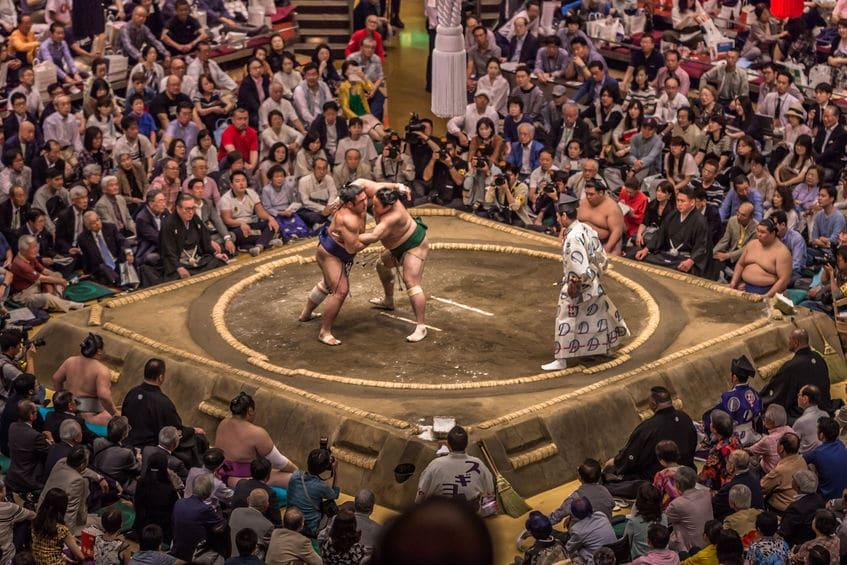 日本で一番歴史のあるスポーツは「相撲」であるという雑学