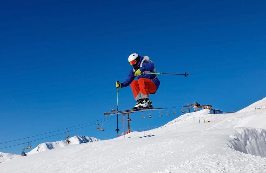 甲子園球場でスキージャンプが行われていたという雑学