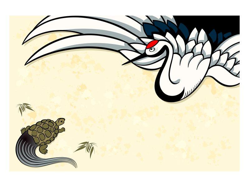 鶴と亀に関する雑学まとめ