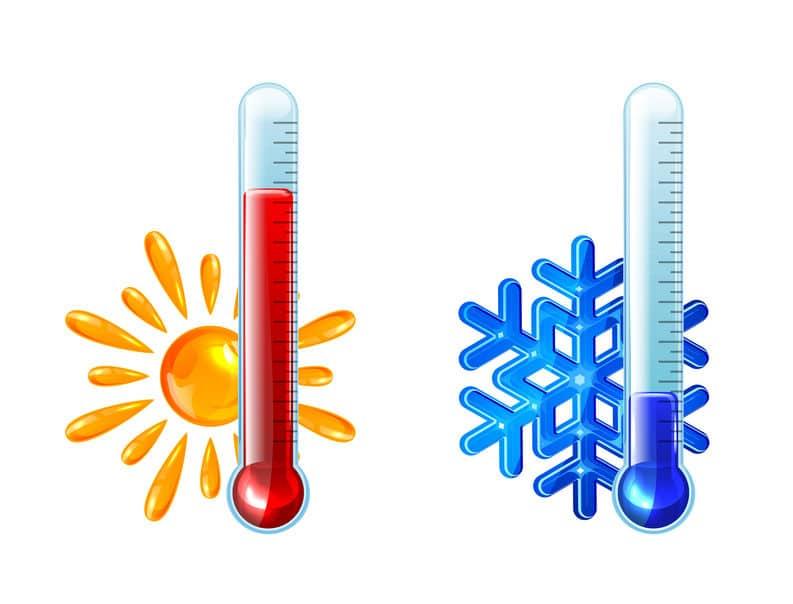 地球上での最低気温はマイナス98度・最高気温は57度についてのトリビア