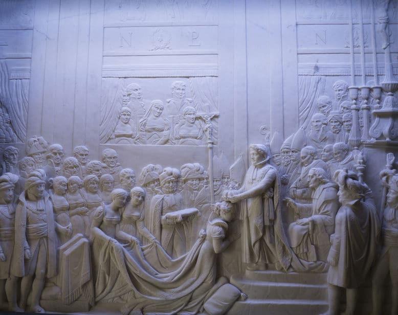 「ナポレオンの戴冠式」の絵に関する雑学