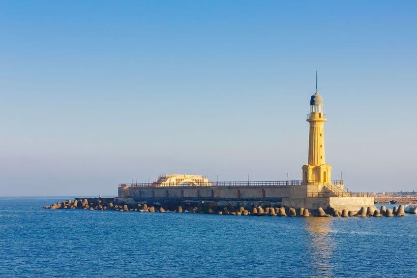 世界の七不思議の1つに数えられる「アレクサンドリアの灯台」に関する雑学