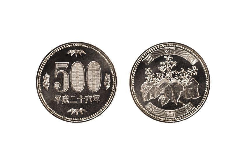 五百円玉のデザインに関する雑学
