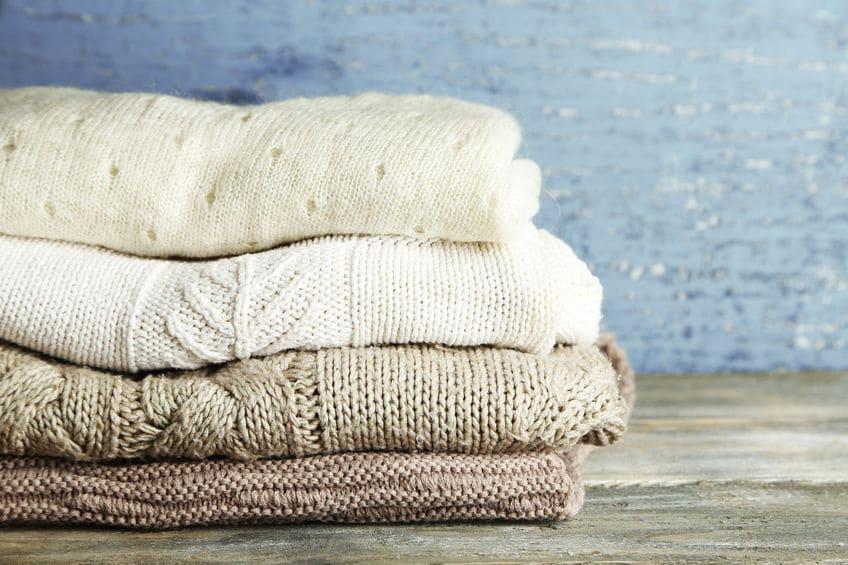 汗をかいても蒸れずに臭くならないセーターがあるというトリビア