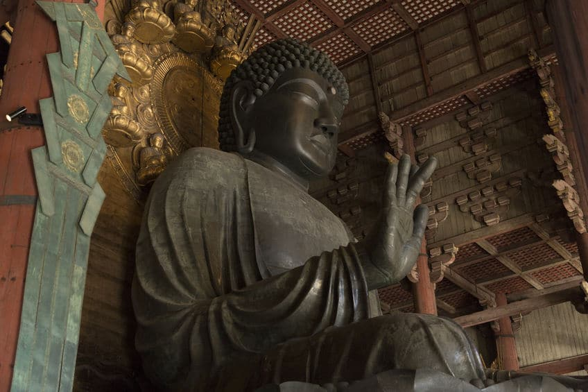 奈良の大仏は造られた当時黄金色だったという雑学まとめ