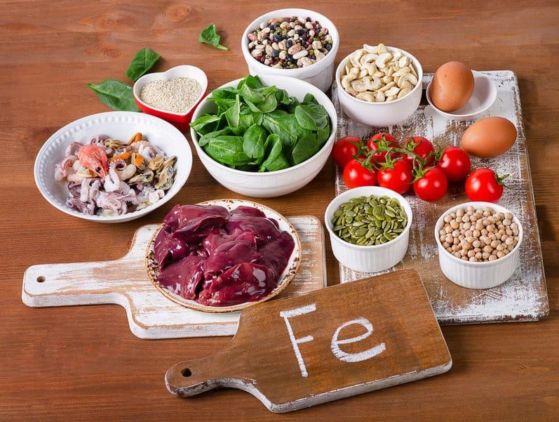 鉄分の摂れる食べ物についてのトリビア