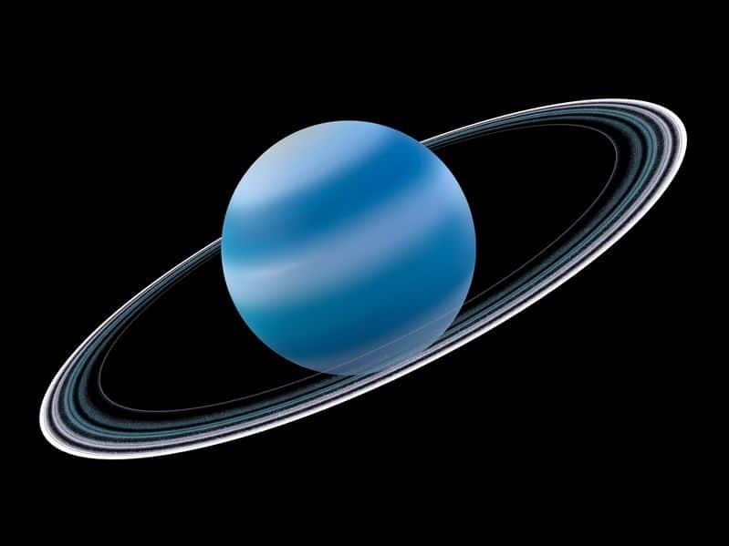 天王星の昼と夜はそれぞれ約42年間続くという雑学