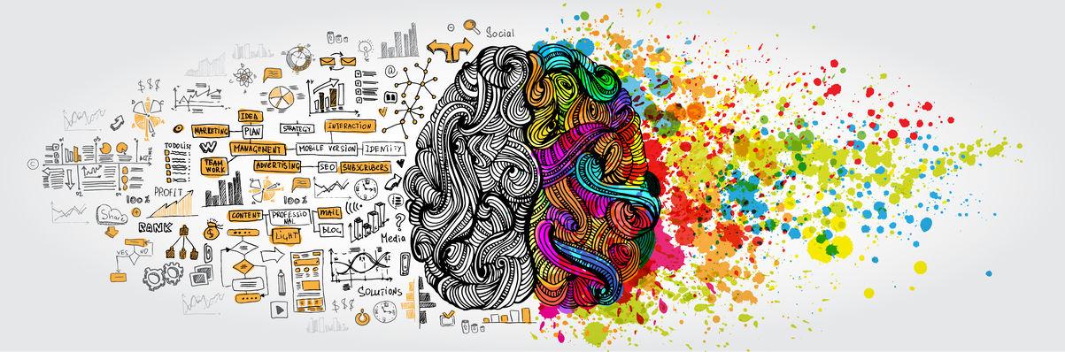 左脳くんと右脳ちゃん、それぞれの得意分野についてのトリビア