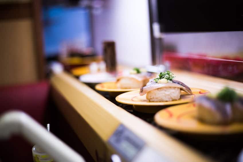 回転寿司のはじまりに関する雑学