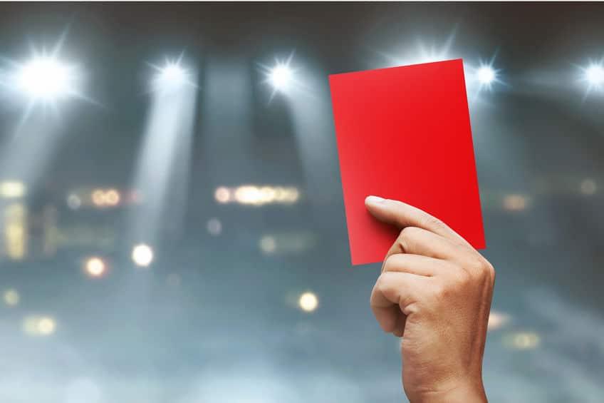 37人の選手が退場となったサッカーの試合があるという雑学まとめ