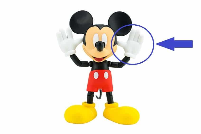 ミッキーマウスなど海外アニメキャラの指が4本の理由についての雑学
