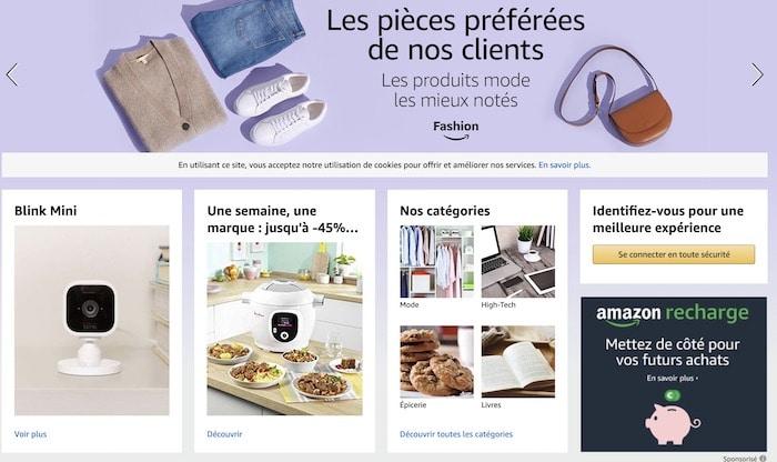 フランス版のAmazon